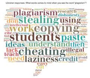 Students learn what plagiarism is and to recognize examples of plagiarism and paraphrasing. They then apply this to developing references using an internet citation generator.