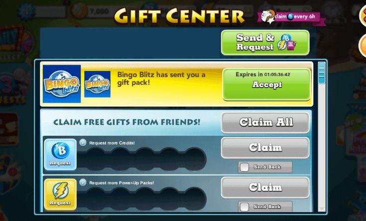 bingo blitz free gift pack