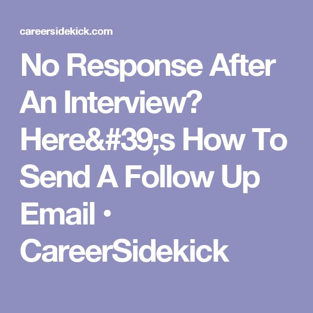 68 best Interview images on Pinterest Career advice, Interview - follow up after interview