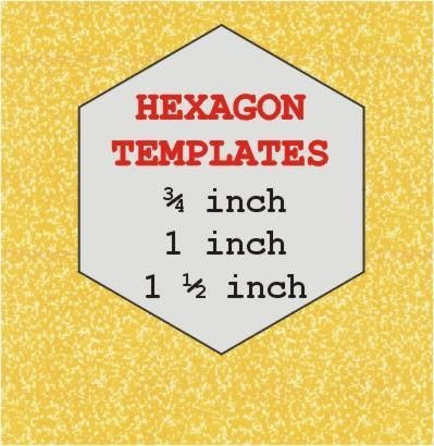 34 best images about hexies on pinterest quilt flowers for Free english paper piecing hexagon templates