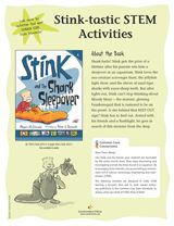 Teach kids about sea creatures through #STEM Activities for Stink and the Shark Sleepover (Grades 3-4) https://www.teachervision.com/childrens-science-activities/printable/74855.html #science #CommonCore #AquaticAnimals #kidlit