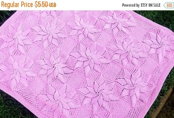 ON SALE Baby Blanket Knitting Pattern by BiggerthanlifeKnits