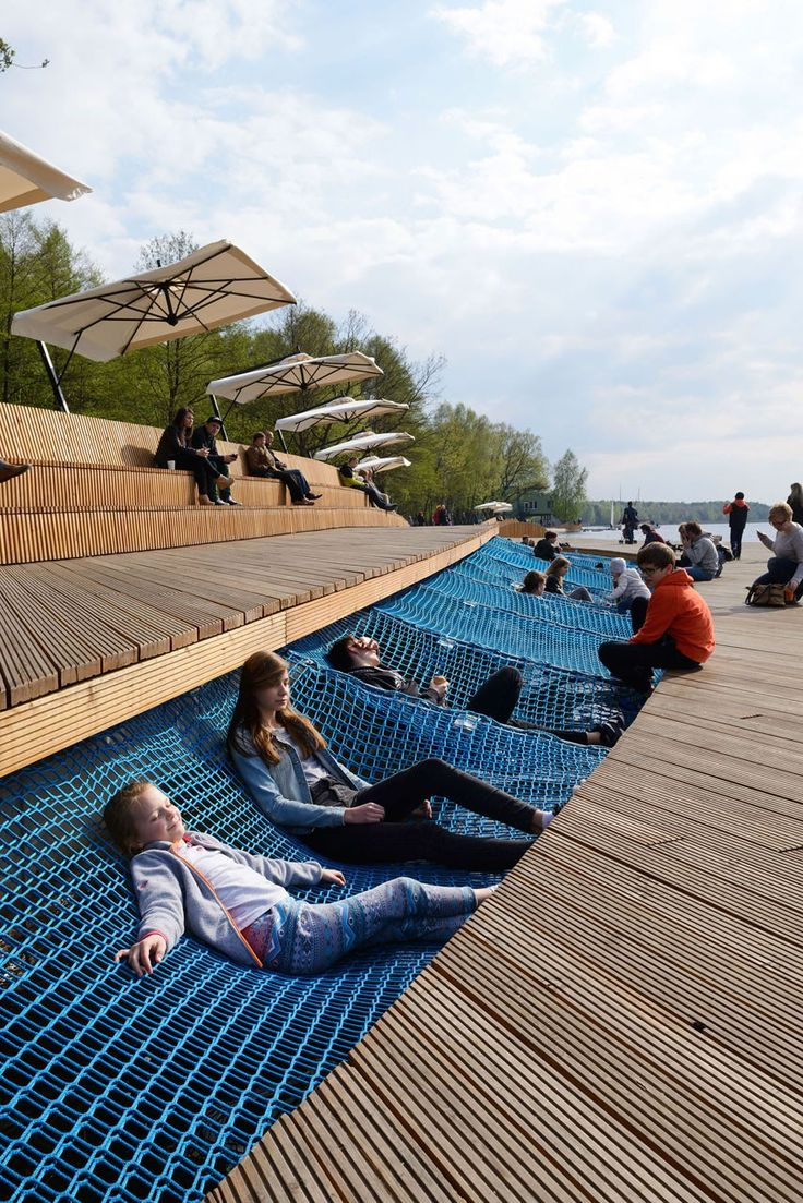 Paprocany Waterfront designed by RS+ in Tychy, Poland © Tomasz Zakrzewski >> Click on the image to see the full project <<
