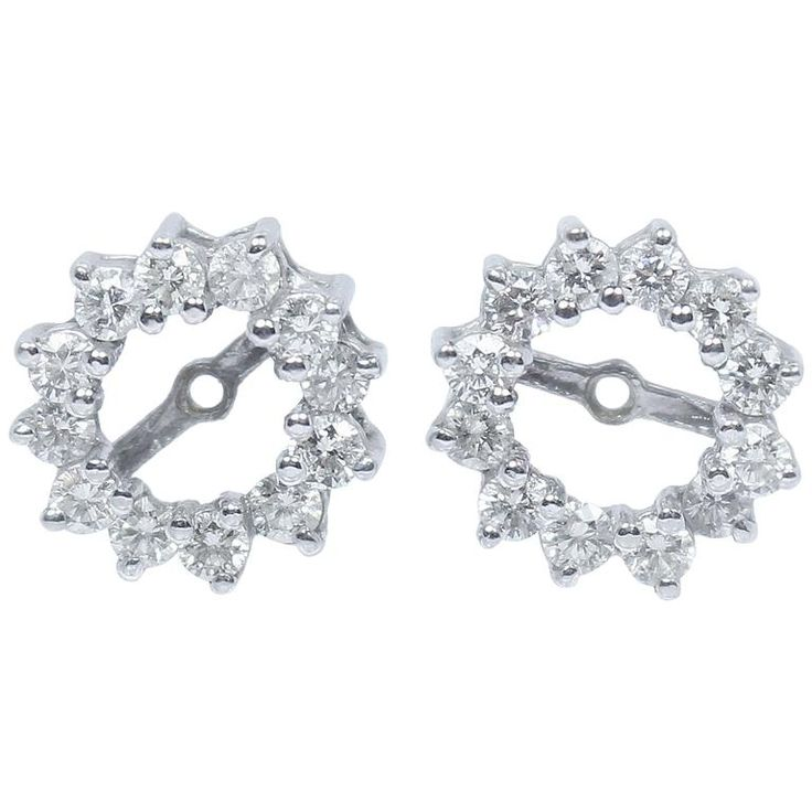 The Paper Bag Princess Diamond Earring Jackets For 5 Carat Studs 895