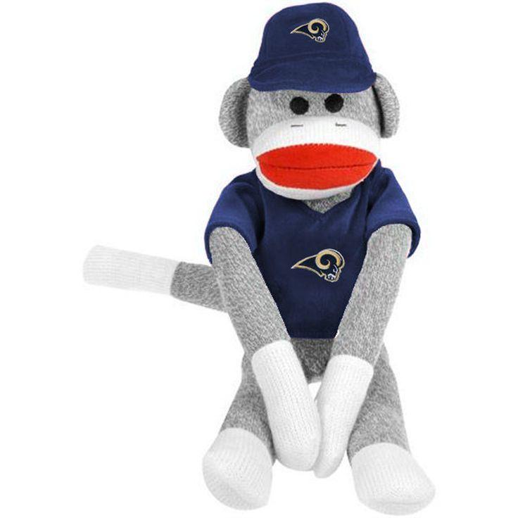 Los Angeles Rams Uniform Sock Monkey - $14.99