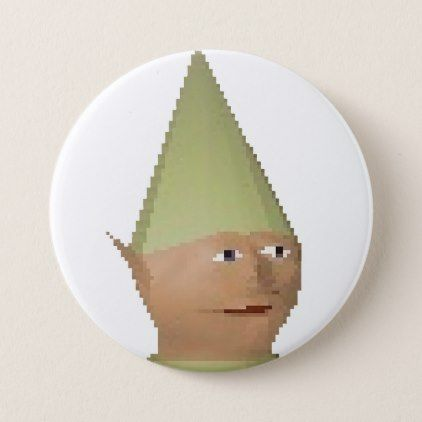 "Gnome Child 3"" Button  $5.95  by AnythingGoodShoppe  - cyo diy customize personalize unique"