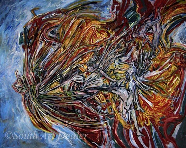 #AvailableWorkSouthArtDealer #AlexanderRichardCarbonell  #Cuba #painter #illustrator  info@southartdealer.com