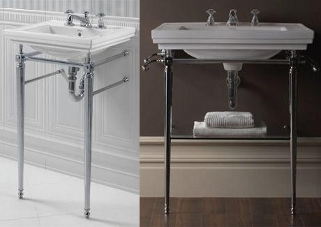 Canterbury Warrington Deco Basin & Console | Sydney Tap and Bathroomware