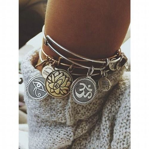 alex + ani - my sweet hopefully daughter-in-law to be bought me one of these. I love it! Wear it all the time.