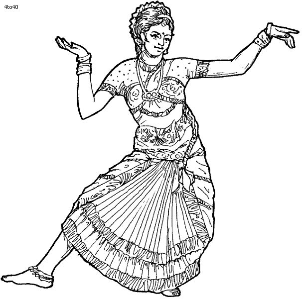 folk dances of india coloring pages bharatanatyam dance coloring page folk dances of india