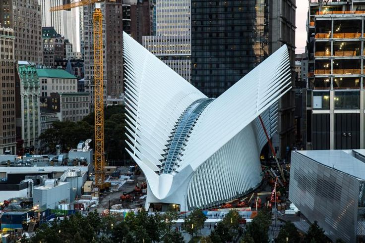 Photos Of The Day: World Trade Center Transportation Hub To Open In March