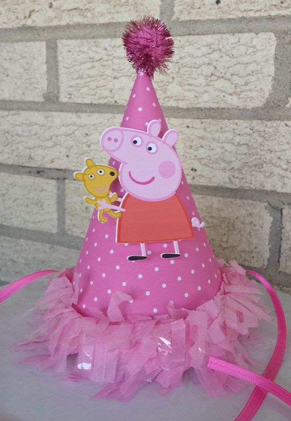 NEW  Peppa Pig Birthday Hat by mlf465