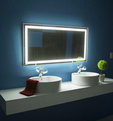 LIGHTED MIRROR Harmony 48 X 24 in