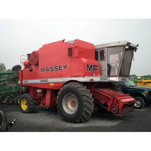 Tractor Equipment Salvage Yards : Massey ferguson combine salvaged for used parts call