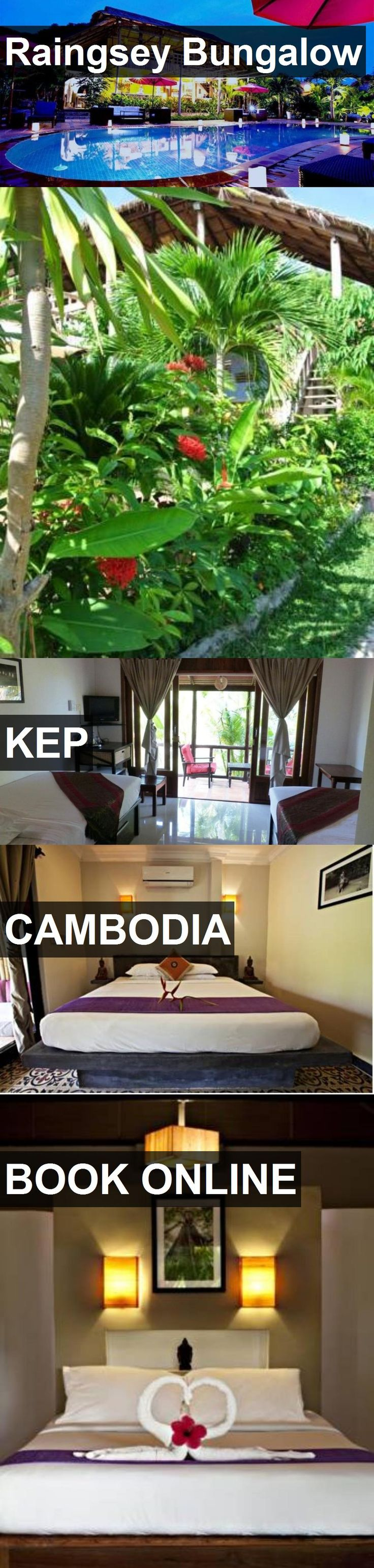 Hotel Raingsey Bungalow in Kep, Cambodia. For more information, photos, reviews and best prices please follow the link. #Cambodia #Kep #RaingseyBungalow #hotel #travel #vacation