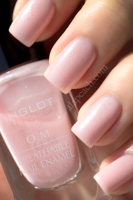 Breathable nail polish O2M by Inglot!  Does NOT contain toluene, formaldehyde, dibutyl phthalate (DBP) or camphor. :)