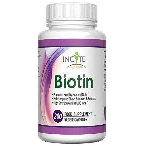 Top 10 Biotins for Hair Loss That Will Instantly Cure Your Balding Hair: Incite Nutrition Biotin 10,000mcg Hair and Nail Food Supplement The most important and potent Biotin in the market is Incite Nutrition Biotin. This is due to the need of Biotin for cell growth and other processes that will contribute in no small measure to the reversal of hair loss.