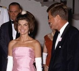 In 1962, First Lady Jackie Kennedy, wife of President John F. Kennedy renovated the White House. http://www.destinationdealey.com/jfk_jackie.html