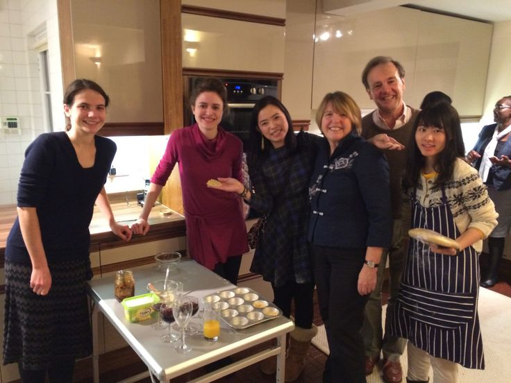 President's mince pie party 2014