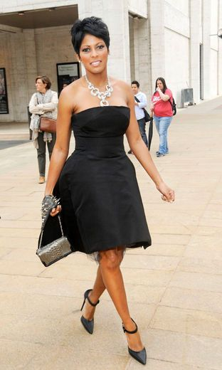 Tamron Hall. Where: The American Ballet Theatre's 2012 Gala at The Metropolitan Opera House in New York City.