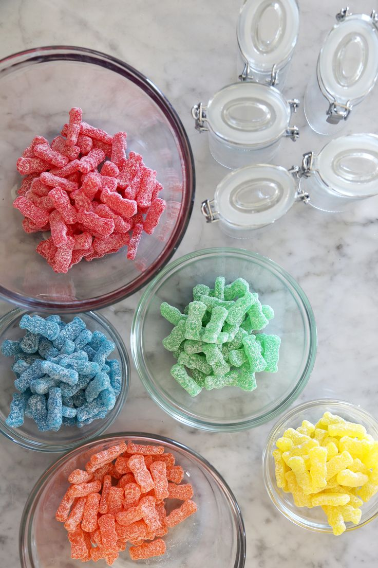 Love Sour Patch Kids? Then you'll adore these infused shots — perfect for your Halloween party this year!