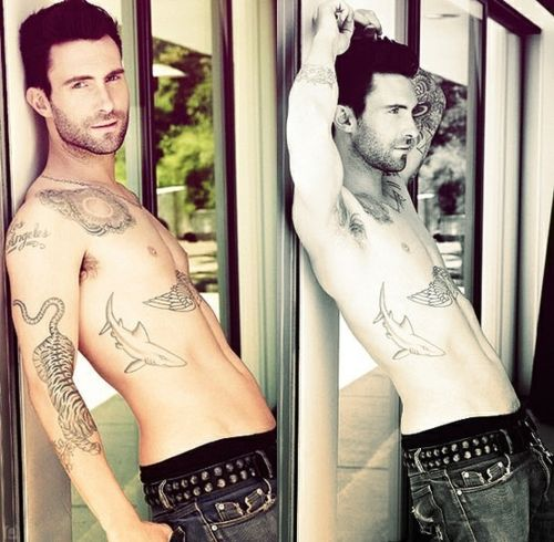 Adam Levine is one of the most beautiful men alive.