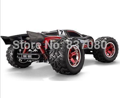 Бесплатная доставка 1/12 электрические Rc автомобили 4WD приводной вал грузовики радио высокой скорости, Rc монстр, Сверхдержава