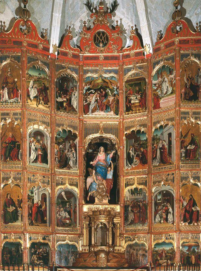 Mejores 30 im genes de retablos siglos xv xvi en pinterest for Oficina turismo trujillo