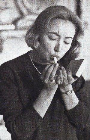 1958 - Oriana Fallaci a Milano