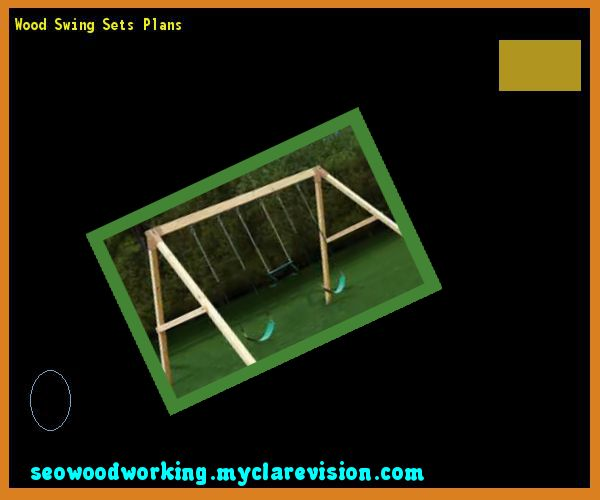 Wood Swing Sets Plans 204927 - Woodworking Plans and Projects!