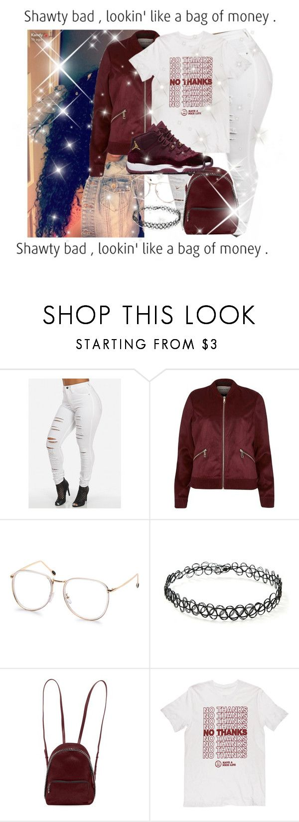 """mini bagg (burgundy)"" by misskera ❤ liked on Polyvore featuring River Island, Forever 21, STELLA McCARTNEY, contest, burgundy and contestentry"