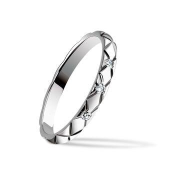 マトラッセ ラフィネ ウェディングリング - CHANEL(シャネル)の結婚指輪(マリッジリング)