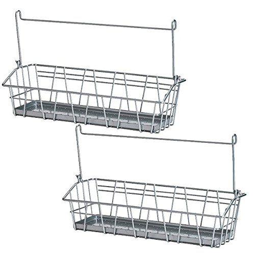 Ikea Steel Wire Basket Spice Rack Hang or Free Standing