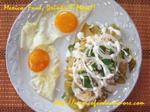 Mexican Green Chilaquiles Recipe