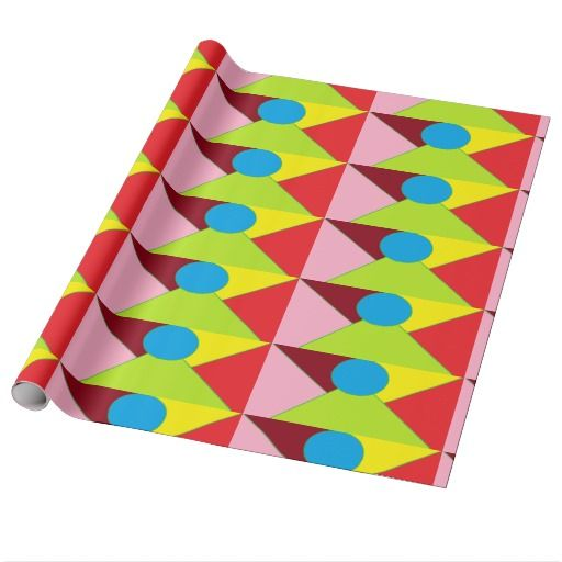 Glossy wripping paper