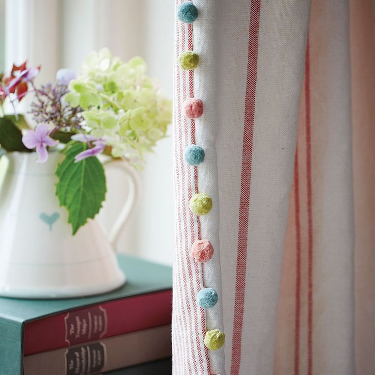 Trimmings | hand-loomed cotton trimmings | Susie Watson Designs
