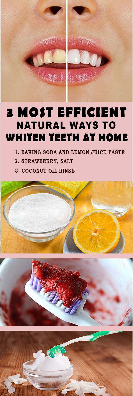 3 Most Efficient Natural Ways To Whiten Teeth at Home