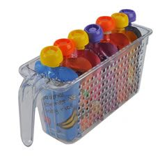 Tall Storage Basket with Handle