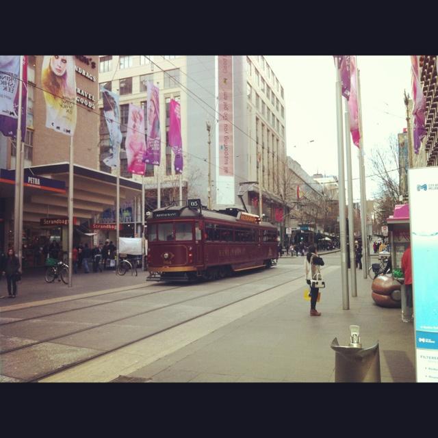 Bourke St Mall, Melbourne
