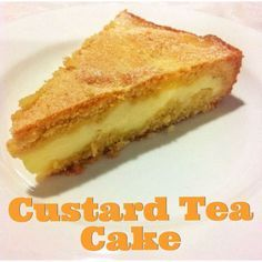 Custard Tea Cake (Thermomix Method Included) « Mother Hubbard's Cupboard