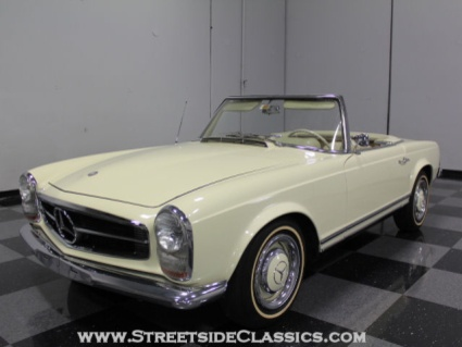 1966 mercedes 230 sl convertible