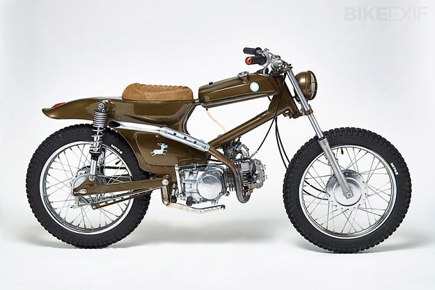Honda Cub: Dirty Donkey