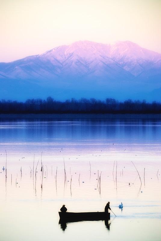 Lake Kerkini , Greece