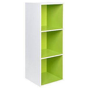 Genérico Modulo 30,4X29X89 cm Verde/Blanco