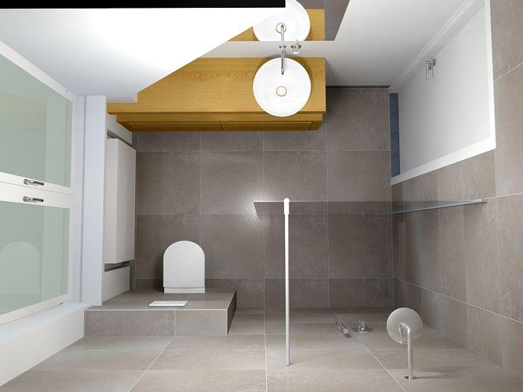 Een badkamer van vijf vierkante meter de eerste kamer restroom pinterest wet rooms kid - Kamer van rustieke chic badkamer ...