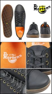 ALLSPORTS | Rakuten Global Market: Dr. Martens Dr.Martens Gunther racing shoes GUNTHER LACE TO TOE SHOE nylon x leather men's casual shoes R15774001 black [regular]