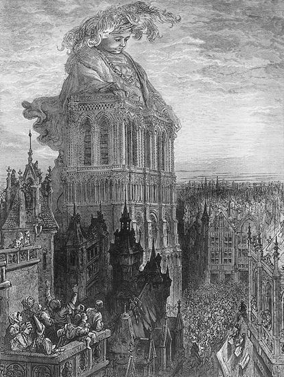 Gustave Doré, illustration pour <i>Gargantua</i>