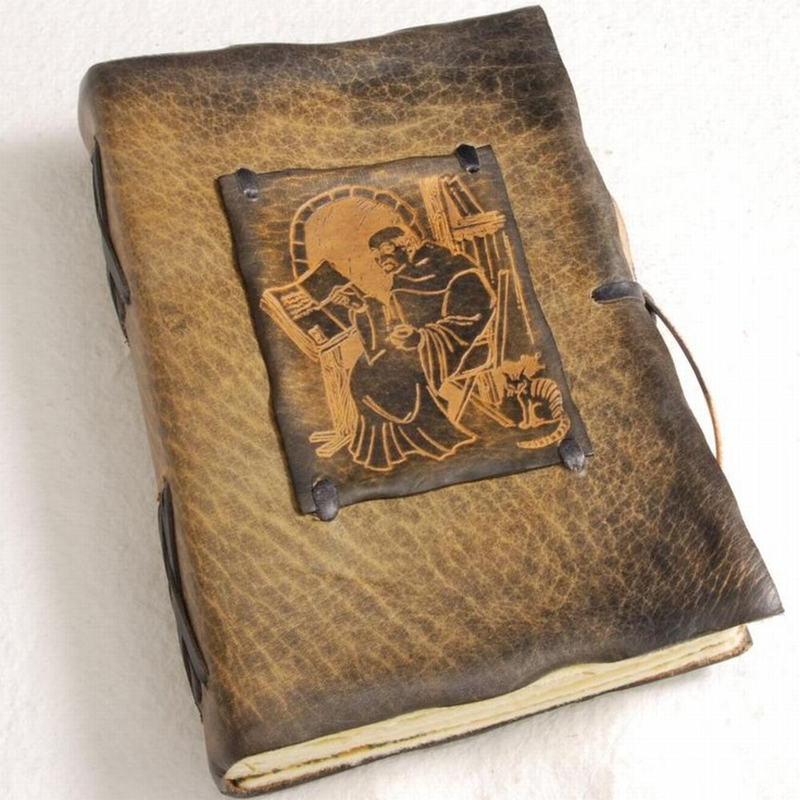 midieval leather journal