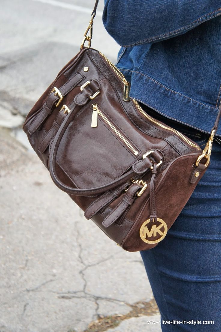 I love my Michael Kors McGraw handbag so much! I had to go all the way to the Rockefeller Center MK Store location to get it because it was only available at that store!