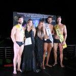 Il più bello d'Italia 2014: 1° selezione del concorso di bellezza maschile organizzato da Monica Mabelli a Villa Mercede di Frascati